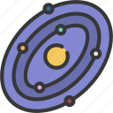 galaxy, astronomy, planets, milky, way