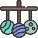 planet, mobile, astronomy, planets, child