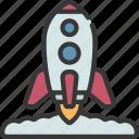rocket, launch, astronomy, ship, launching