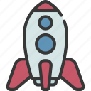 rocket, ship, astronomy, launch, space