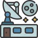 satellite, dish, building, astronomy, signal