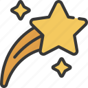 shooting, star, astronomy, stars, space