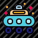 moon, robot, rover, space