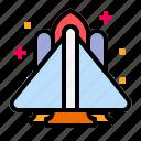launch, launcher, rocket, scientist, spaceship icon