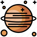 astronomy, earth, galaxy, ring, satellite, saturn, universe icon