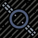 astronomy, earth, module, orbit, planet, satellite, space icon