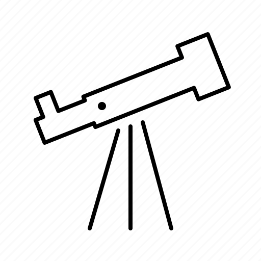 astronomy, fi, nasa, sci, space, telescope icon