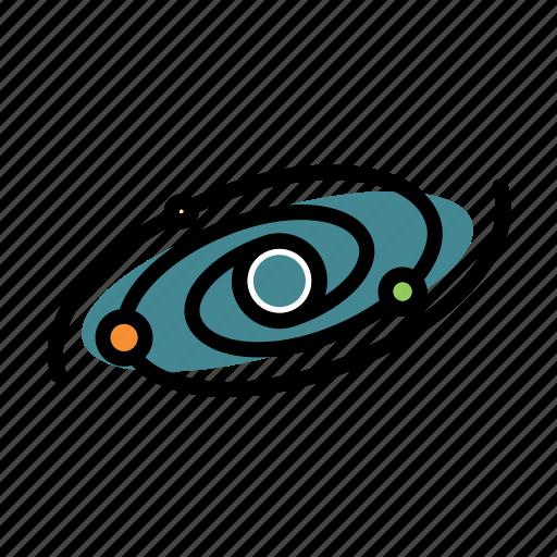 galaxy, interstellar, milkyway, space, universe icon