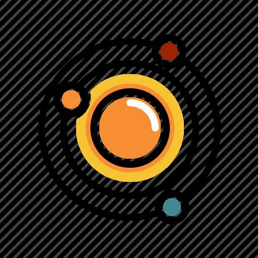 interstellar, milkyway, solarsystem, space, universe icon