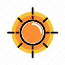 day, daylight, noon, solar, sun icon