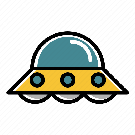 alien, space, spacecraft, ufo, vehicle icon