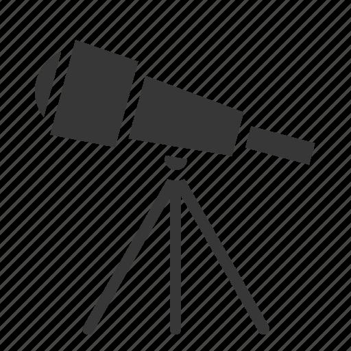 astronomy, observe, space, star, telescope icon