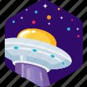 alien, ship, space, spaceship, stars, ufo