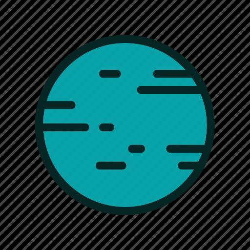 astronaut, planet, satellite, space icon