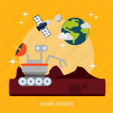 mars, mars rover, rover, space, universe