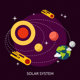 solar, solar system, system, universe icon