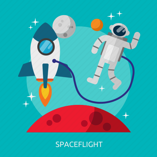 flight, space, spaceflight, universe icon