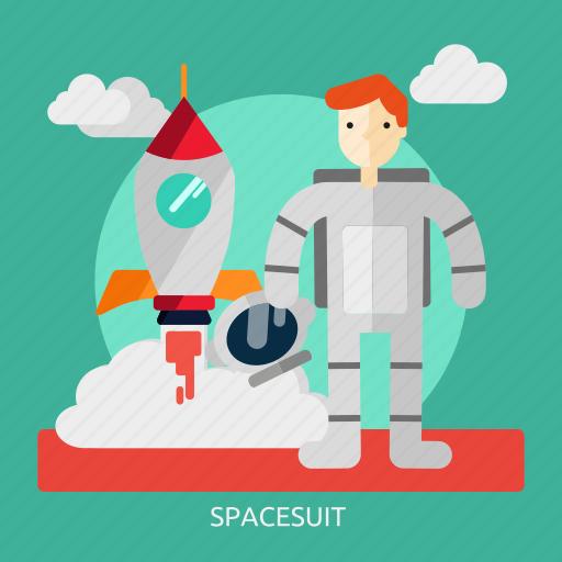 space, spacesuit, suit, universe icon