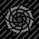 black hole, field, hole, space, universe