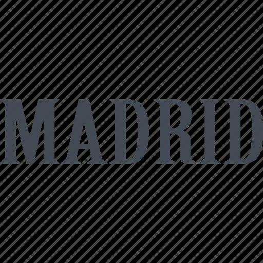 iberia, madrid, mediterranean, spain, the country, tourism icon