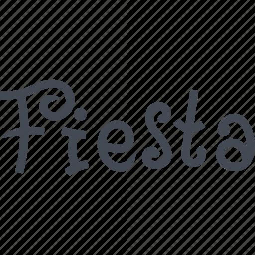 fiesta, iberia, mediterranean, spain, the country, tourism icon