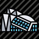architecture, building, city, landmark, spain icon