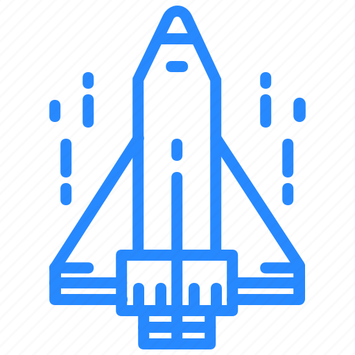 Space, aircraft, rocket, shuttle, spaceship icon - Download on Iconfinder