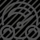 arrow, car, dashboard, display, group, speed, speedometer icon