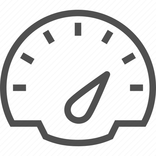 car, dashboard, meter, panel, speed, speedometer, tachometer icon