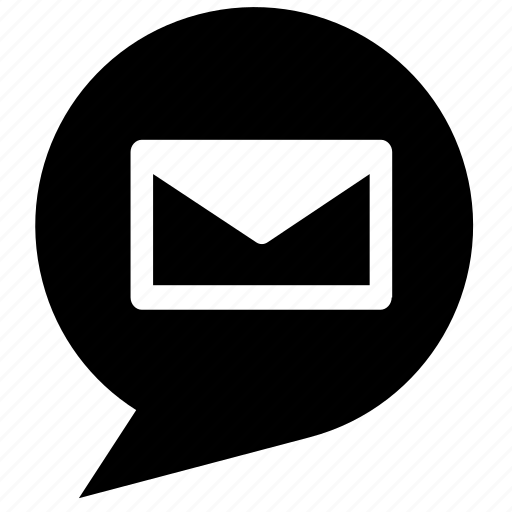 chat, chat bubble, mail, message, text message icon