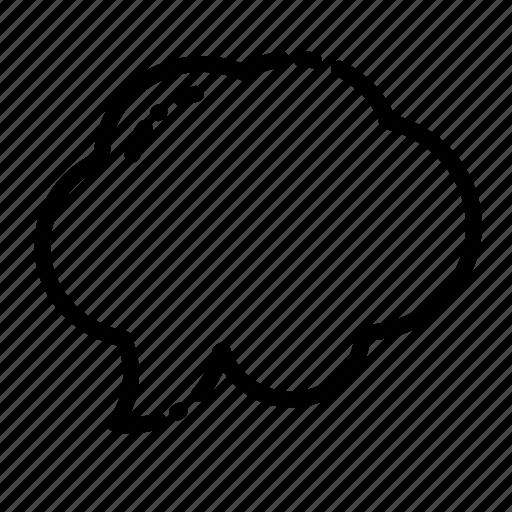 bubble, chat, message, speak, speech, talk, text icon