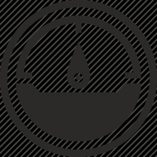 count, level, monitoring, speed, temperature icon