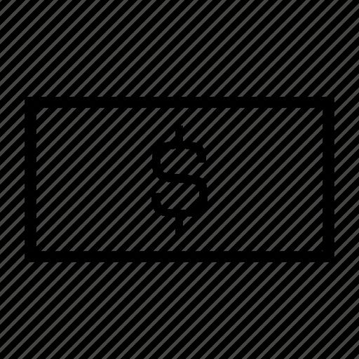 cash, dollar bill, dollar sign, dollar symbol, money, u.s. economy, usd icon