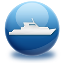 sea, ship, travel icon