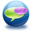 chat, references icon
