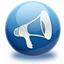 announcement, blog, sound, speaker, volume icon