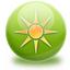 restart, sun, sunny, weather icon