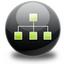 sitemap, tree icon