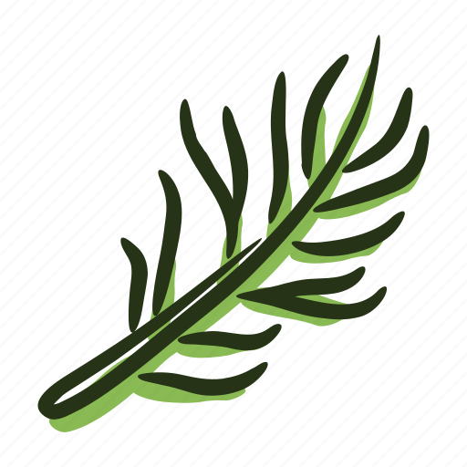 cook, food, herb, ingredient, leaf, rosemary, spice icon