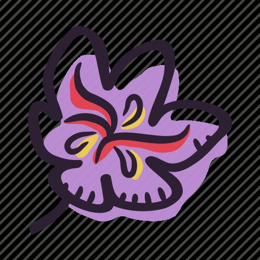 food, herb, ingredient, plant, saffron, saffron flower, spice icon