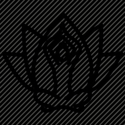 Lotus position, meditation symbol, spiritual element ...