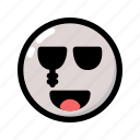 emoji, emoticon, ghost, halloween, scary, spooky icon