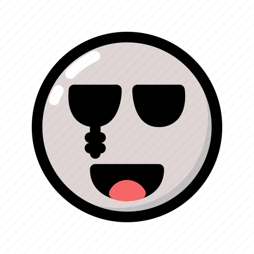 emoji, emoticon, ghost, halloween, scary, spooky icon