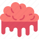 brain, creepy, halloween, scary, spooky icon