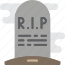 creepy, gravestone, halloween, scary, spooky icon