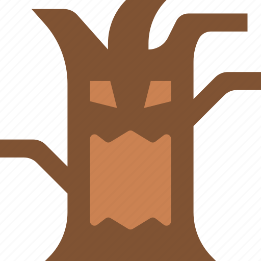 creepy, halloween, scary, spooky, tree icon