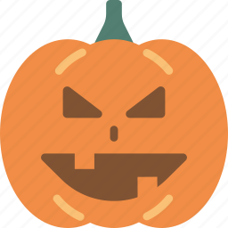 creepy, halloween, pumpkin, scary, spooky icon