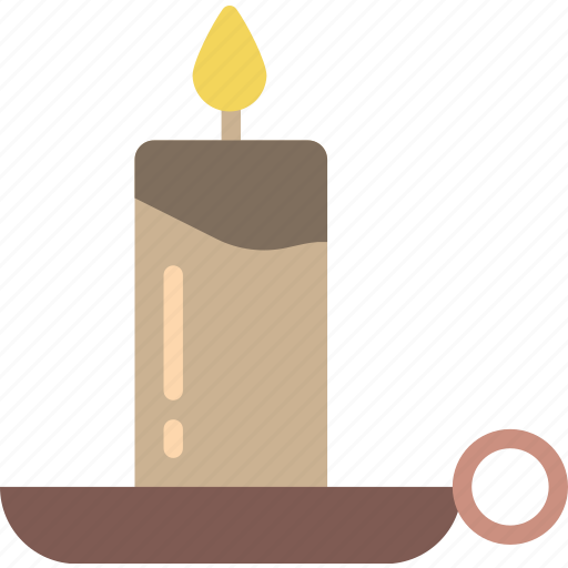 candle, creepy, halloween, scary, spooky icon