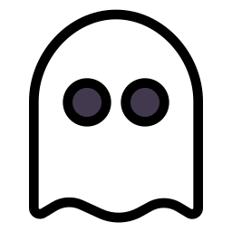 ghost, halloween, spooky icon