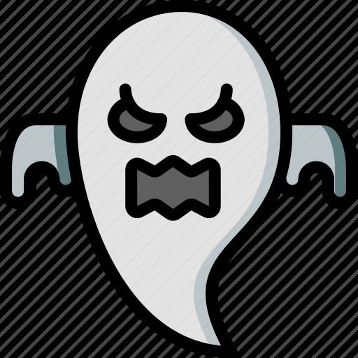 creepy, ghost, halloween, scary, spooky icon